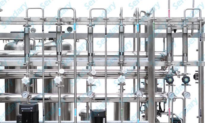 纯化水设备管路图